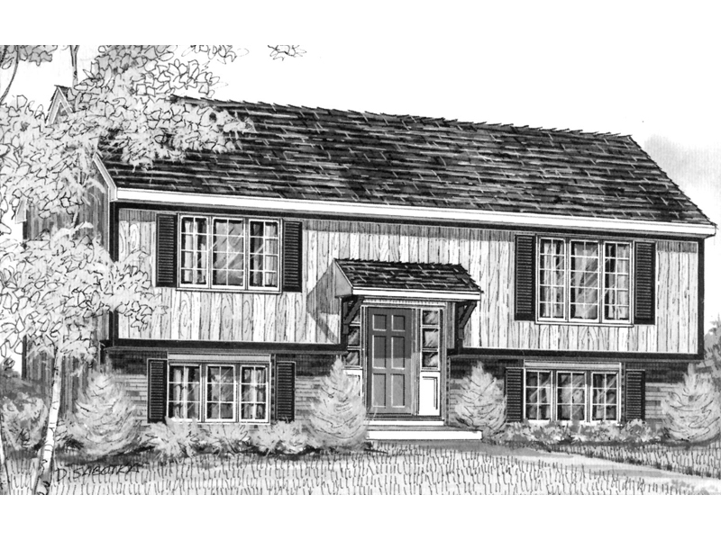 Roseville raised ranch home plan 008d 0022 house plans for Raised ranch home plans