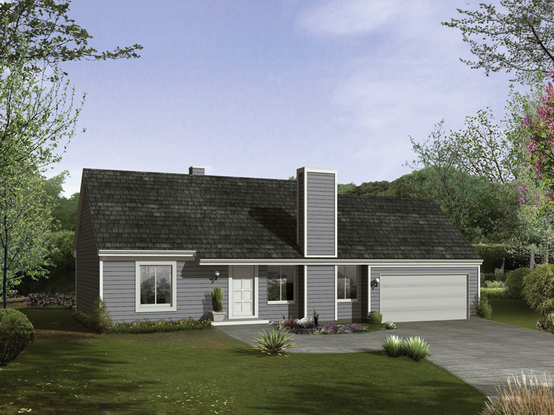 Traditional House Plan Front of Home - 008D-0025 | House Plans and More