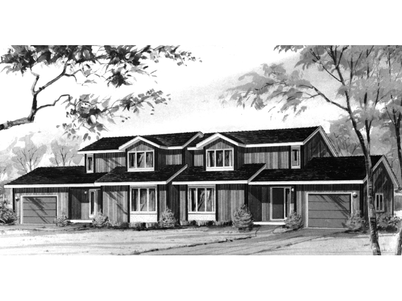 Traditional House Plan Front of Home - 008D-0030 | House Plans and More