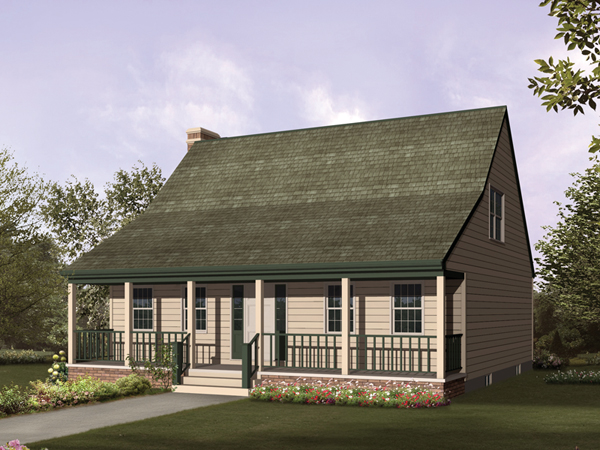 Winterfarm Acadian Saltbox Home Plan 008d 0048 House