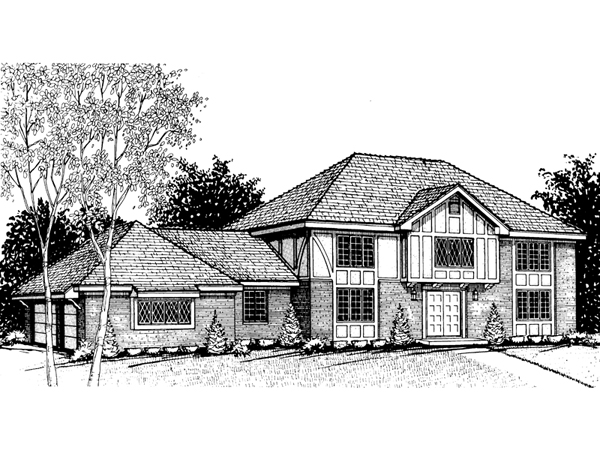 Westcanter Colonial Luxury Home Plan 008d 0050 House