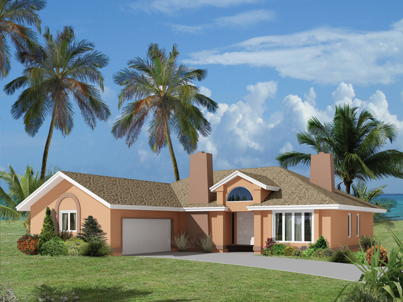 Floridian Style Home