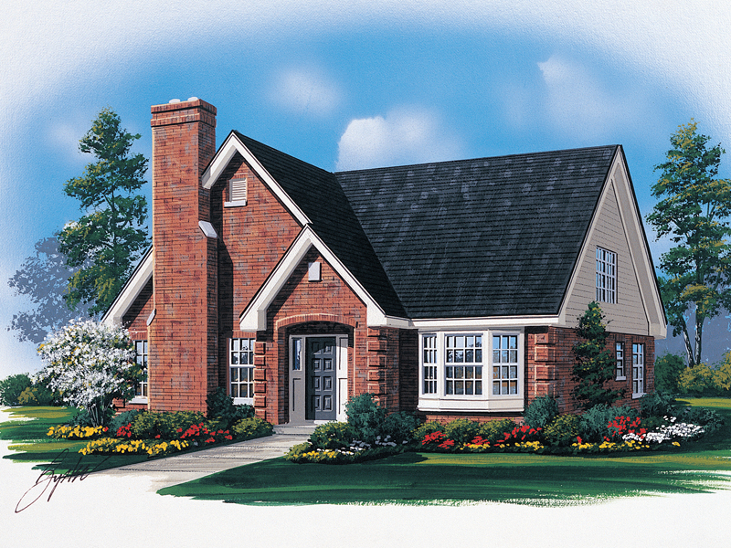 Traditional House Plan Front Image - 008D-0076 | House Plans and More