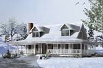 Attractive Dormers Enhance Front Facade