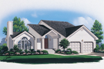 Distinctive Features In This Home Capture Much Curb Appeal