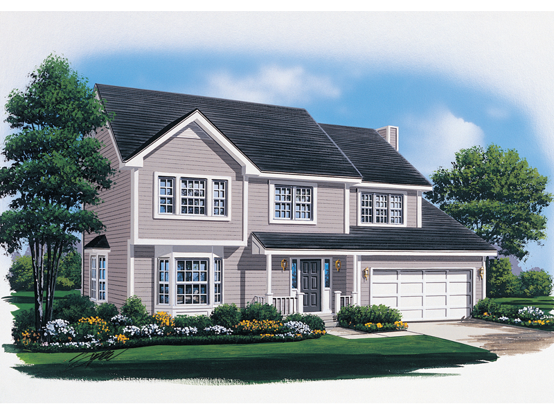 Southern House Plan Front Image - 008D-0107 | House Plans and More