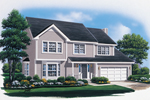 Traditional House Plan Front Image - 008D-0107 | House Plans and More