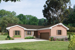 Efficient Ranch Home With Front Load Garage