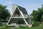 Unique A-Frame Detailing Has Appeal