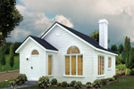 Graceful Ranch Home With Focal Front Palladian Window