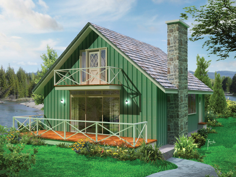 galena cabin lake home house plan - Lakehouse Plans
