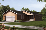 Convenient Ranch Home With Front Load Garage