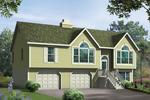 Large Windows Grace This Split-Level Home