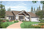 Traditional House Plan Front Photo 02 - 011D-0004   House Plans and More