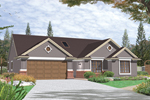 Ranch House Plan Front Photo 01 - 011D-0005 | House Plans and More