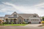 Colonial Floor Plan Front Photo 01 - 011D-0006 | House Plans and More