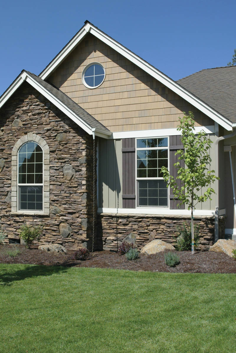 Country French Home Plan Design Detail Photo 01 011D-0008