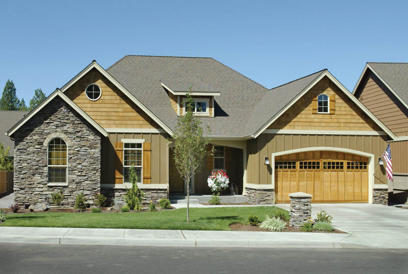 Ranch House Plan Front of Home 011D-0008