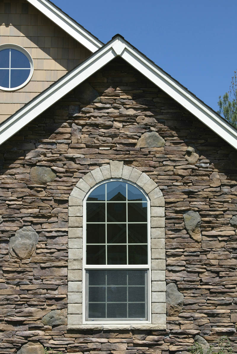 Ranch House Plan Window Detail Photo 011D-0008