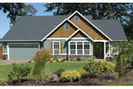 Ranch House Plan Front Photo 04 - 011D-0013 | House Plans and More
