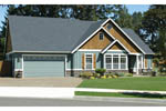 Ranch House Plan Front Photo 05 - 011D-0013 | House Plans and More