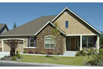 Traditional House Plan Front Photo 08 011D-0013