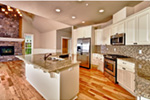Craftsman House Plan Kitchen Photo 01 - Springfall Craftsman Ranch Home 011D-0013 | House Plans and More
