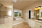 Craftsman House Plan Master Bathroom Photo 03 - Springfall Craftsman Ranch Home 011D-0013 | House Plans and More