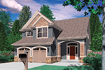 Traditional House Plan Front Photo 01 - 011D-0018 | House Plans and More