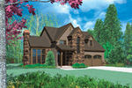 Country House Plan Front Image - 011D-0023 | House Plans and More