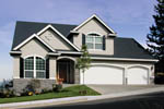 Traditional House Plan Front Photo 04 - 011D-0026 | House Plans and More