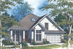 Arts and Crafts House Plan Front Image - 011D-0030 | House Plans and More