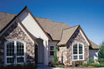 European House Plan Front Photo 01 - 011D-0032 | House Plans and More