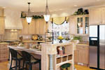European House Plan Kitchen Photo 01 - 011D-0032 | House Plans and More