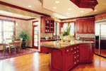 Luxury House Plan Kitchen Photo 01 - 011D-0034 | House Plans and More