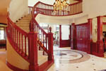 European House Plan Stairs Photo - 011D-0034 | House Plans and More