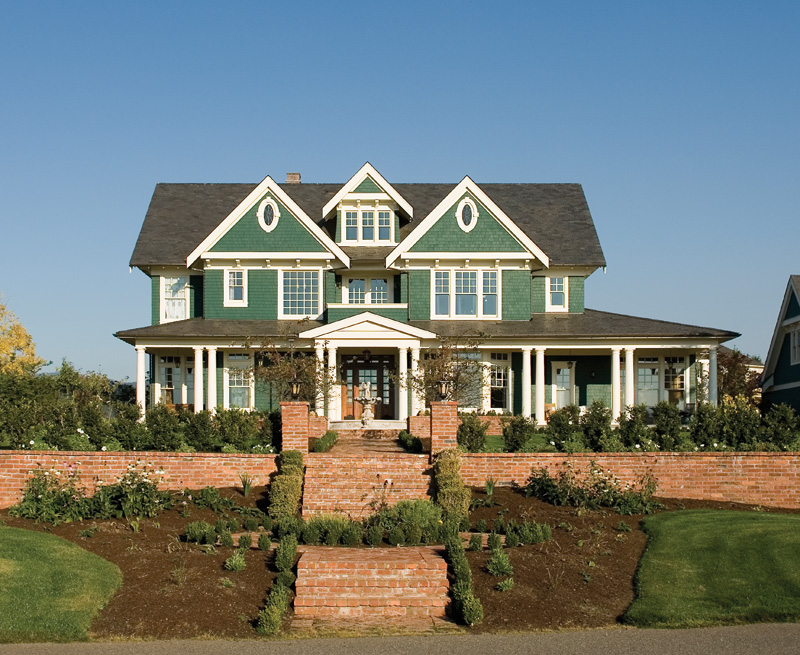 Grand Styled Home With Craftsman And Sourthern Outlooks