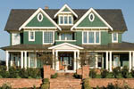 Shingle House Plan Front Photo 03 - 011D-0035 | House Plans and More