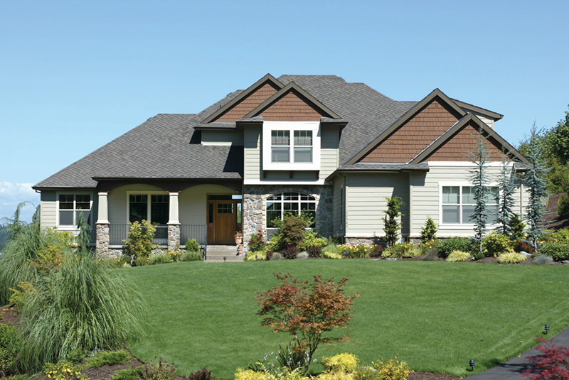 Country French Home Plan Front of Home 011D-0036