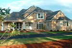 Country French Home Plan Front Photo 01 - 011D-0036 | House Plans and More