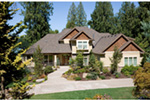 European House Plan Front Photo 03 - 011D-0036 | House Plans and More