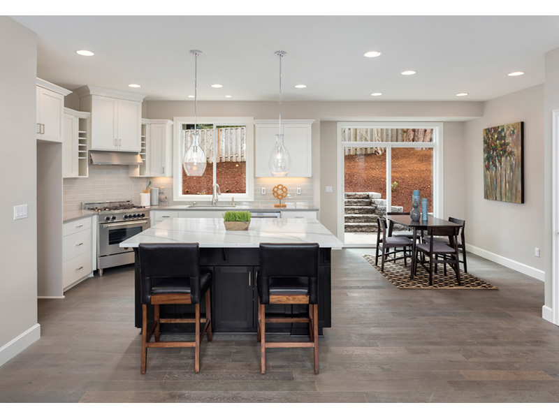 Lake House Plan Kitchen Photo 01 - 011D-0037 | House Plans and More