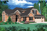Shingle House Plan Front Image - 011D-0038 | House Plans and More