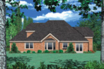 Shingle House Plan Color Image of House - 011D-0038 | House Plans and More
