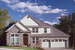 Traditional House Plan Front Photo 01 - 011D-0039 | House Plans and More