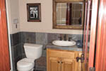 Shingle House Plan Bathroom Photo 02 - 011D-0043 | House Plans and More