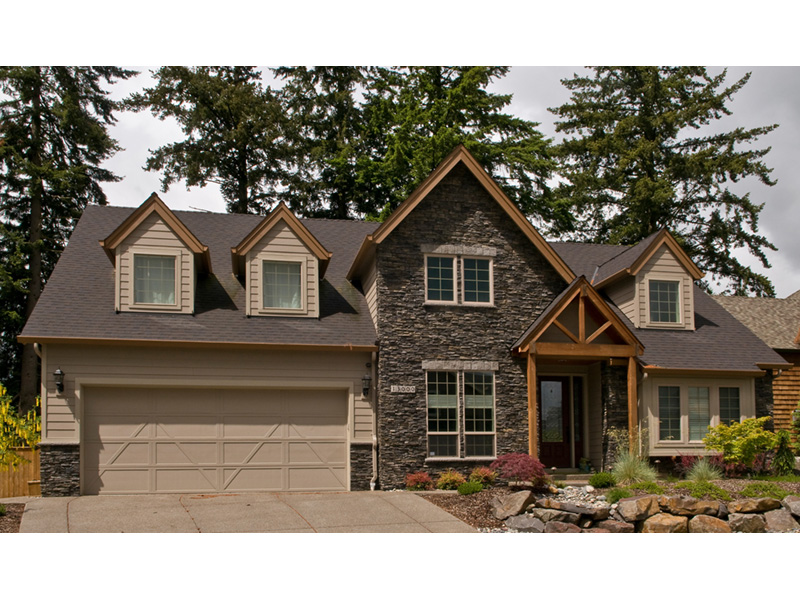 European House Plan Front Photo 10 011D-0043