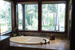 Tudor House Plan Master Bathroom Photo 01 - 011D-0043 | House Plans and More