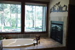 European House Plan Master Bathroom Photo 02 - 011D-0043 | House Plans and More