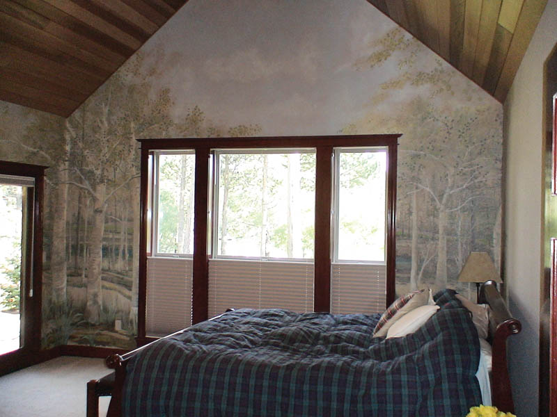 Country House Plan Master Bedroom Photo 03 011D-0043